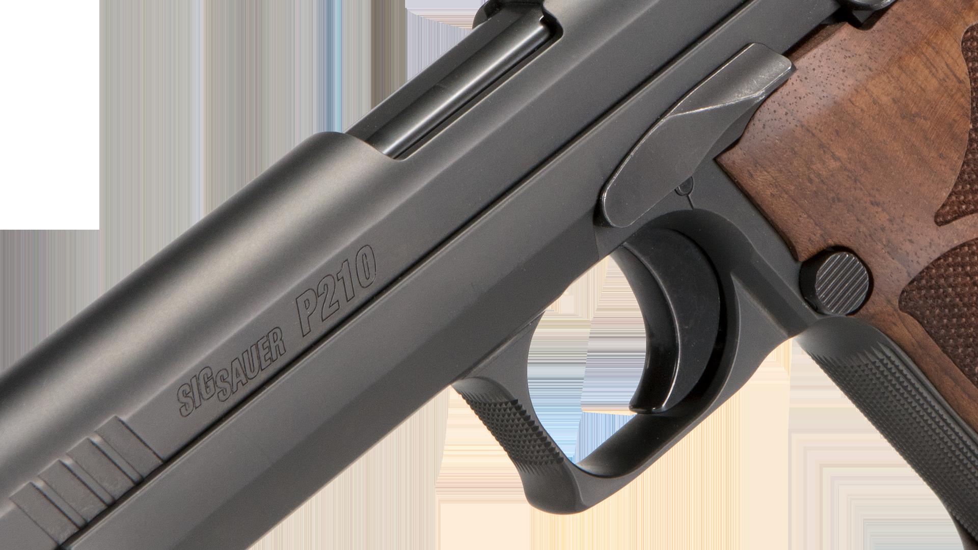 P210 Target Best Pistol For Target Shooting Luger 9mm Sig Sauer